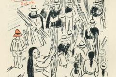 Zeichnung von Gertrude Schreiter-Schwarzenfeld